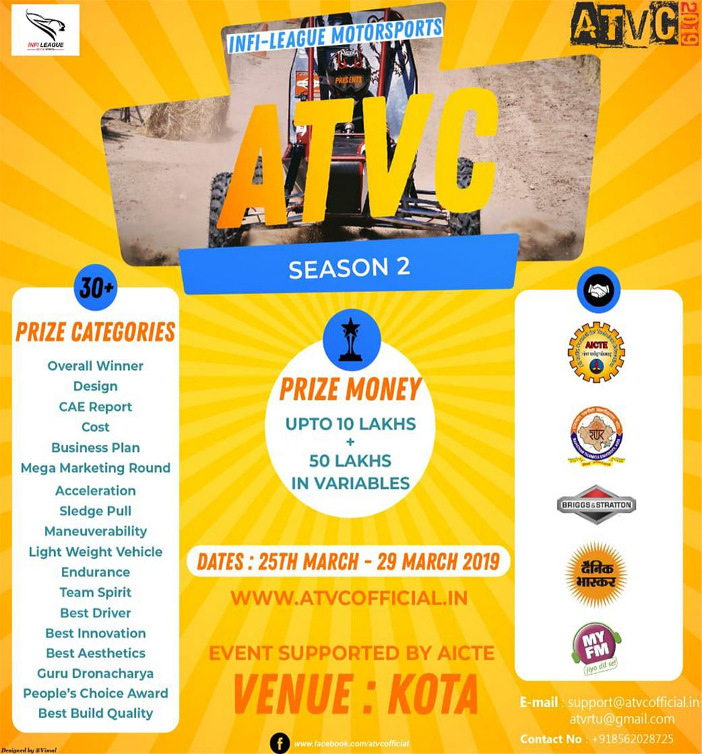 ATVC Schedule